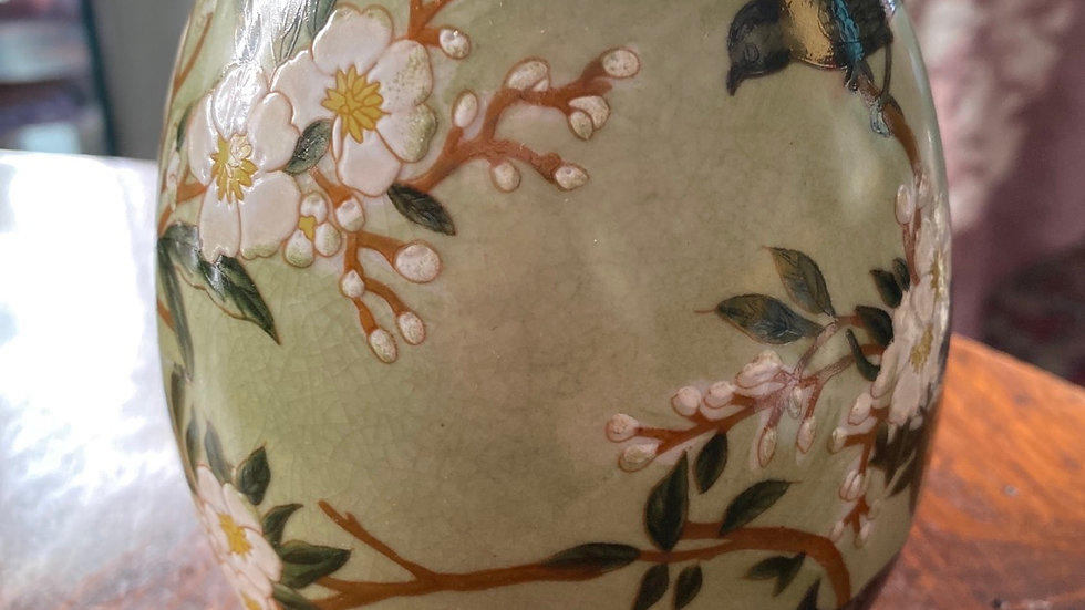 Uovo  in ceramica  Primavera  medio