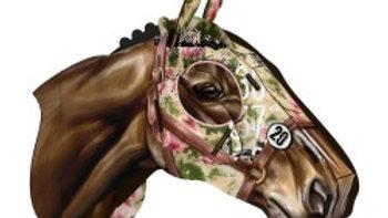 Trofeo cavallo da corsa Fleurs de nuit