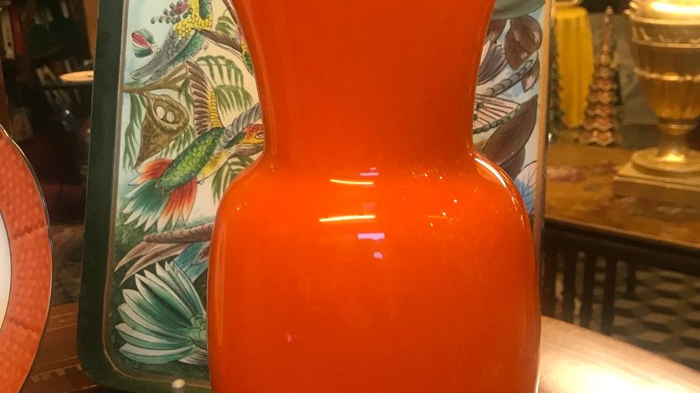 Vaso Murano cm31 arancio