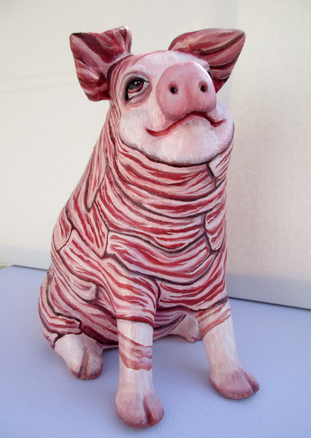 Bacon pig