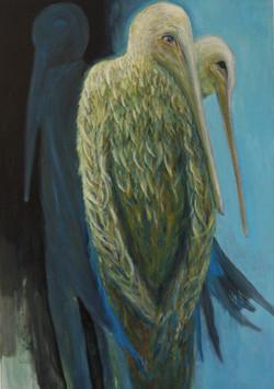 Oil on Canvas  70 cm x 100cm.. 2014