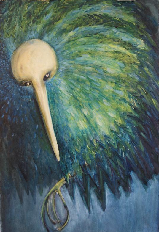 Oil on Canvas 97cm x 57cm