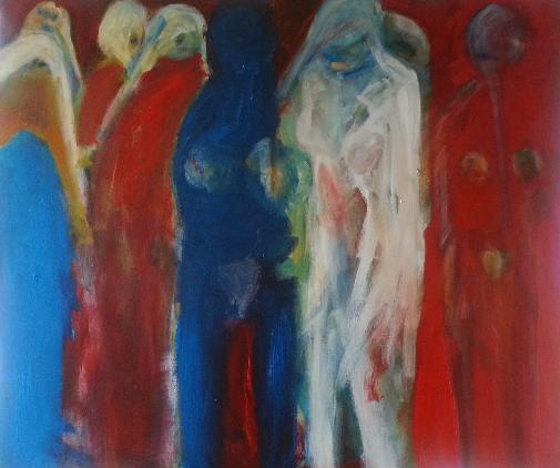 Oil on Canvas 100cm x 120cm