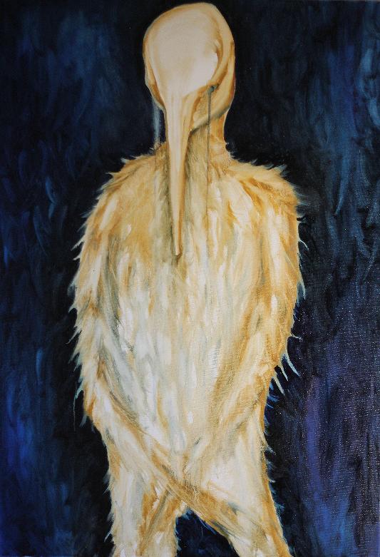 Oil on Canvas 100cm x 70 cm