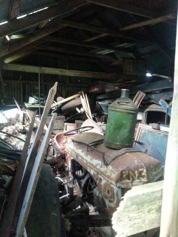 Lough Dan shed 2012