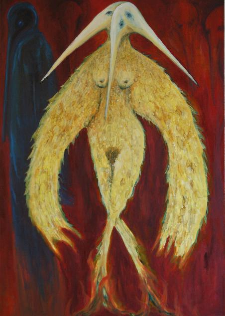 Oil on Canvas 100 cm x 70 cm
