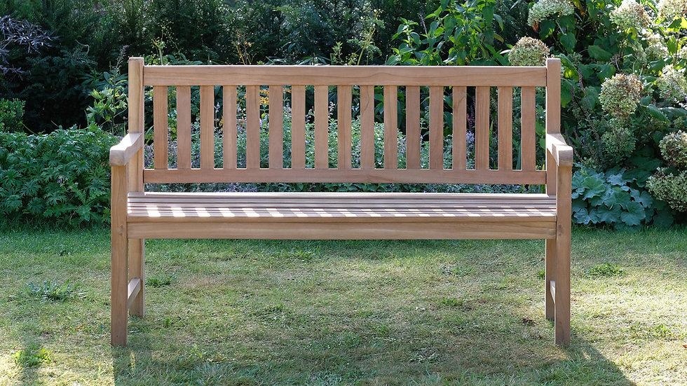 Romsey - Solid Teak Classic Garden Bench