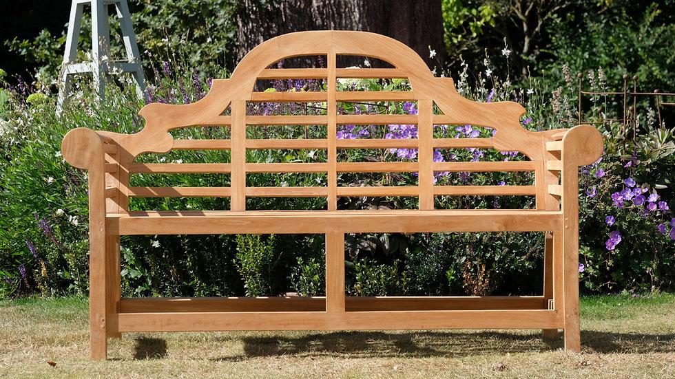 Lutyens - Solid Teak Garden Bench