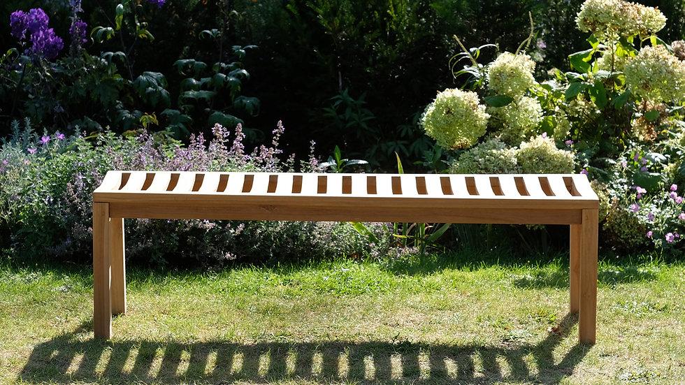 Berkeley - Solid Teak Garden Backless Bench