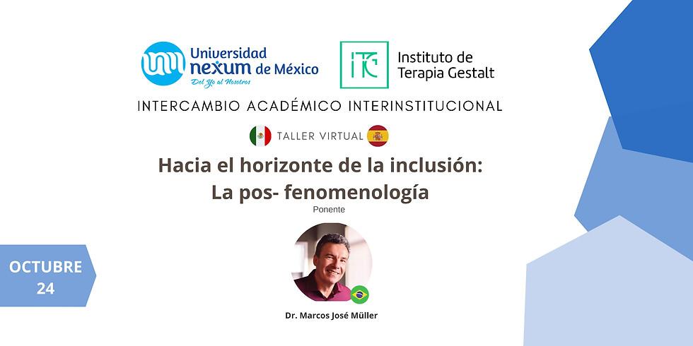 Taller Virtual || Hacia el horizonte de la inclusión: La pos-fenomenología