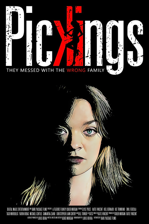 Pickings Movie Poster: Scarlet (16X20)