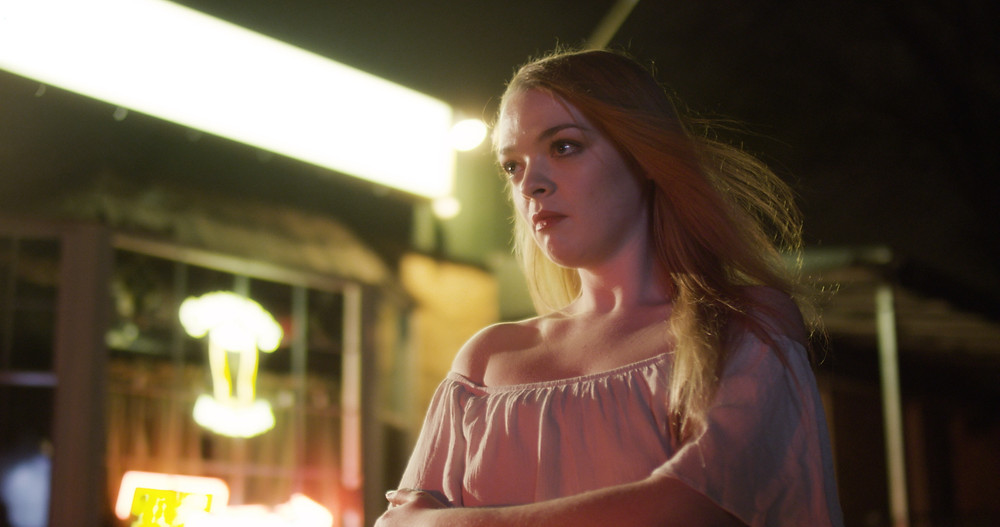 Katie Vincent in the movie, Pickings