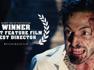 "Pickings Wins ""Best Feature Film"" and ""Best Director"" at SSU Film Festival"