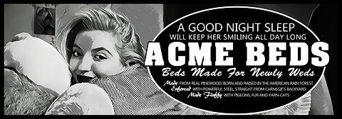 ACME Beds - A Good Night Sleep Will Keep Her Smiling