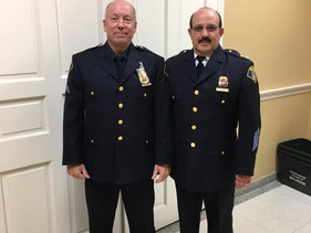 Chris Simmons Promoted to Sergeant