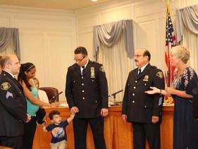 Chris Shishko promoted to Inspector, Matthew Oliva promoted to Sergeant