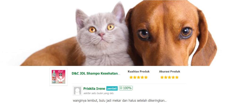 D&C Produkkita Donasi Jakarta Dog Lovers (JDL)