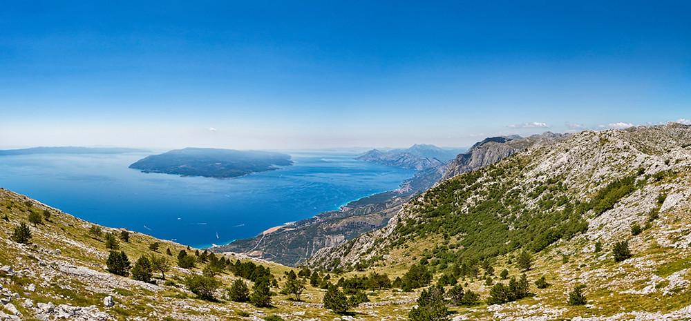 Croatian Coastline - Dalmatian Region