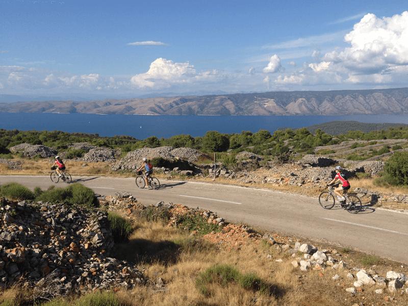 Cycling in Dalmatia