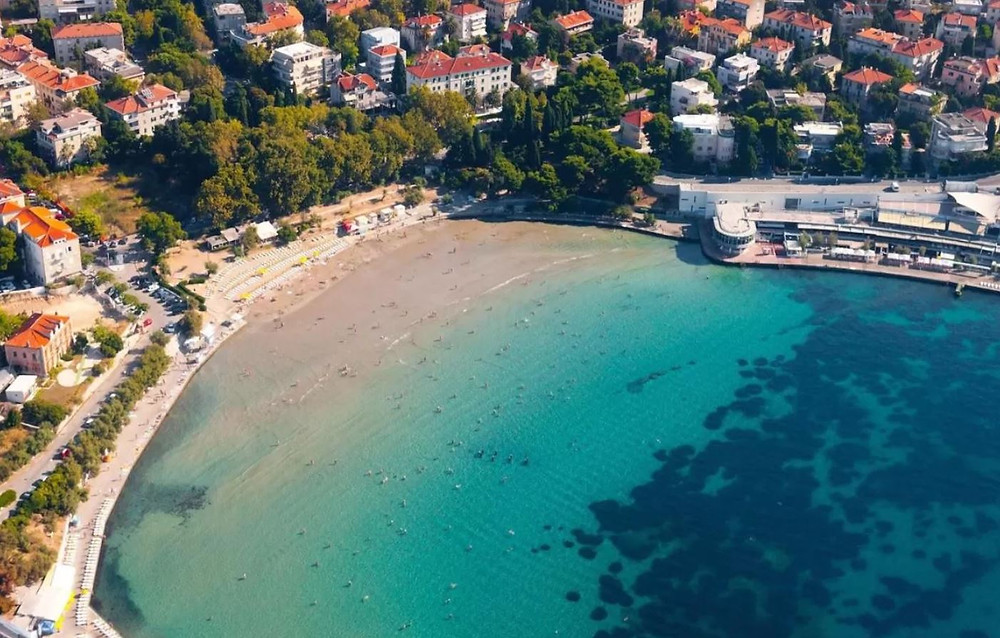 Bacvice Beach, Split Croatia