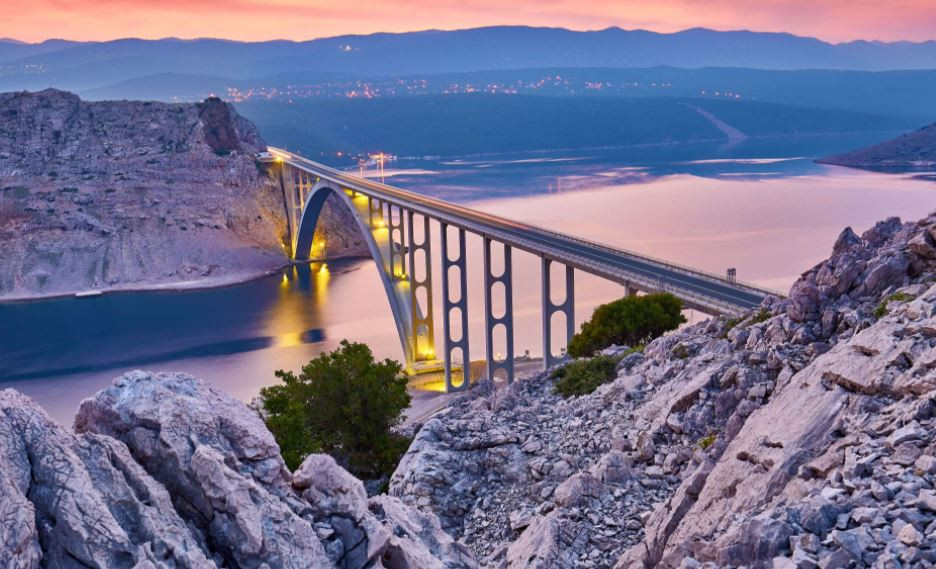 Maslenica Brigde for Bungee Jumping in Croatia