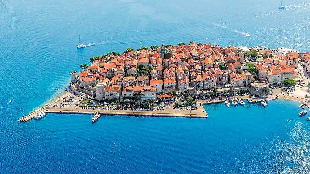 Island of Korčula, Croatia