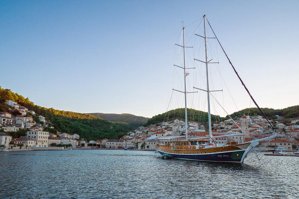 Gulet Charter with Beautiful gulet Stella Maris in Croatia
