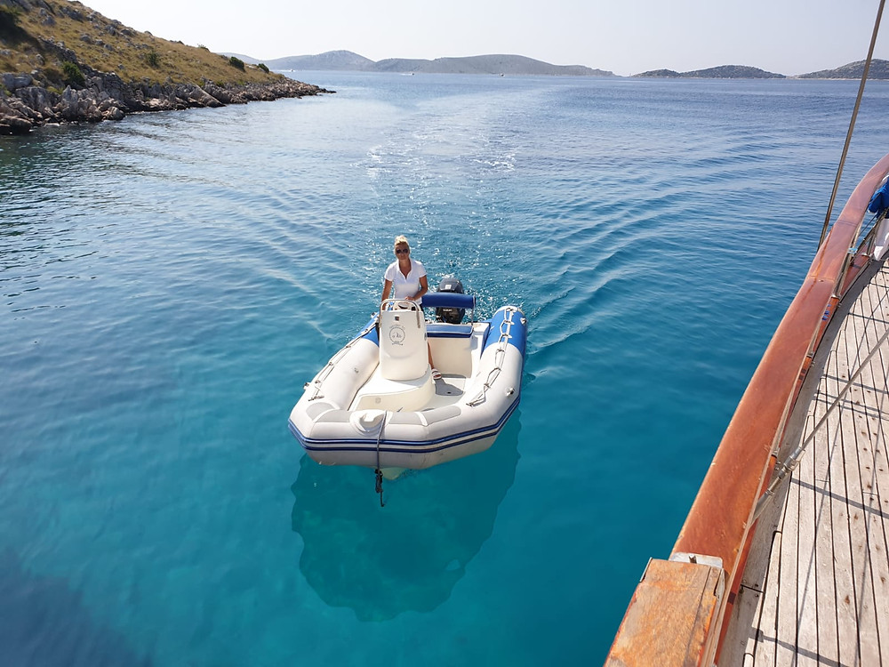 Gulet Vito offers many watersports and amenities.