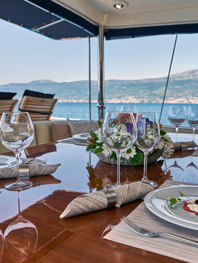 Food during your gulet charter – what to expect?