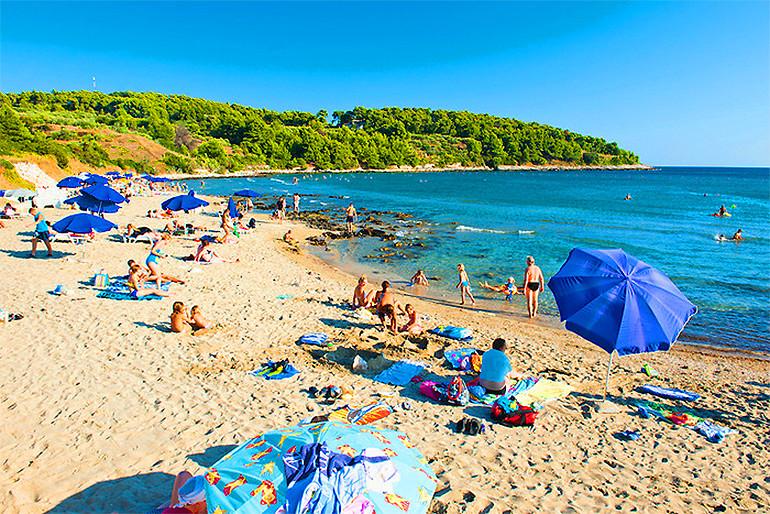 Vela Przina Beach, Lumbarda Croatia