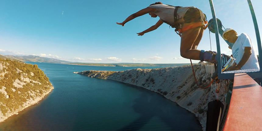 Bungee Jumping in Croatia