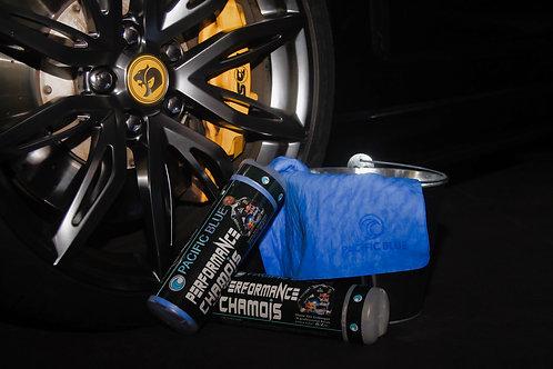 Pacific Blue Performance Chamois- Glove Box Size