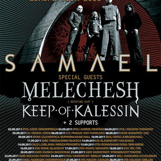 INFERI SAMAEL EUROPE TOUR