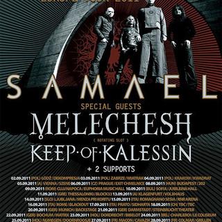 INFERI SAMAEL EUROPE TOUR