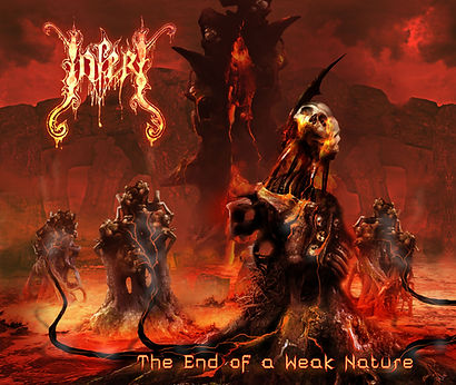 INFERI The End of a Weak Nature (album cover)