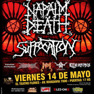 INFERI NAPALM DEATH