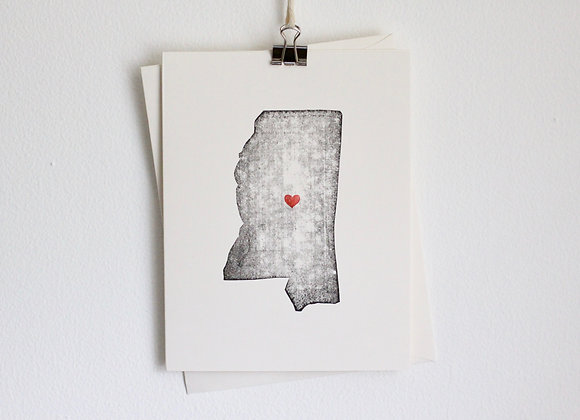 Mississippi Greeting Card Wholesale