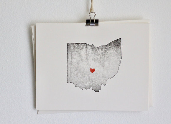 Ohio Greeting Card