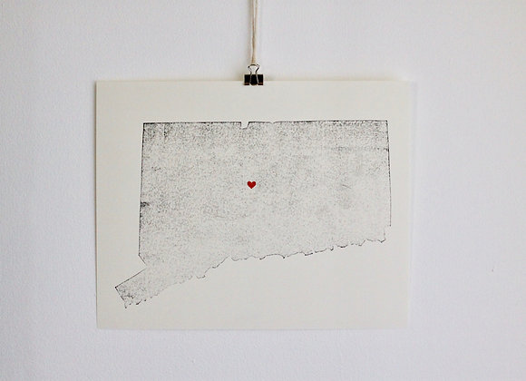 Connecticut Print