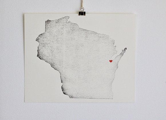 Wisconsin Print