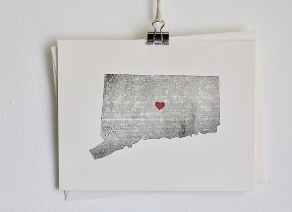 Connecticut Greeting Card
