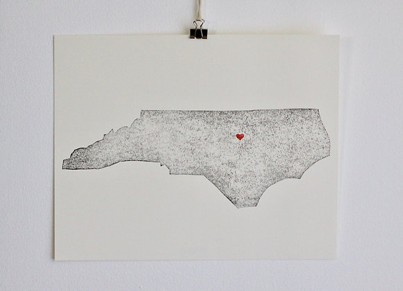 North Carolina Print