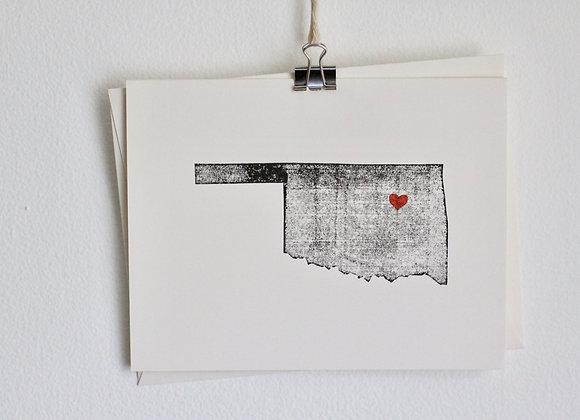 Oklahoma Greeting Card Wholesale