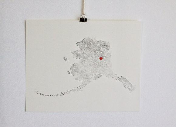 Alaska Print