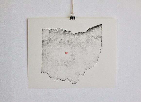 Ohio Print