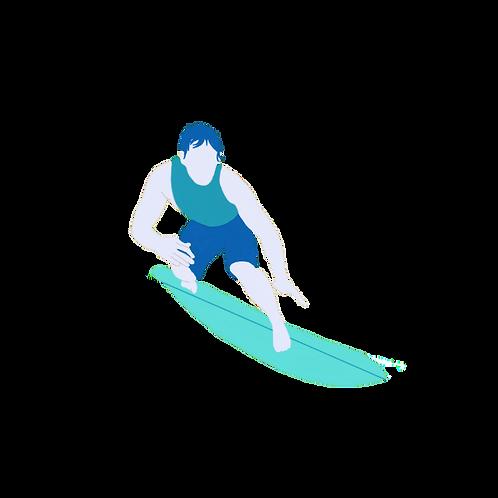 SURF LEAGUE: UNLIMITED PASS 2020