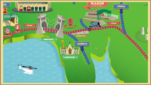 Sodor Map Animation - Art and Creative Direction