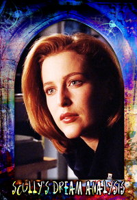 X-Files Trading Card Design