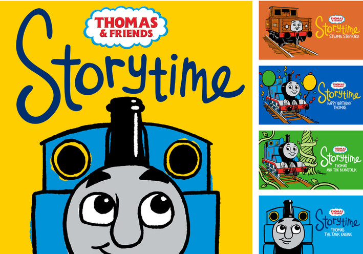 Thomas & Friends Podcast Key Art and Logo
