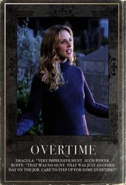 Buffy Trading Card Design